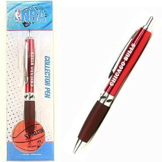 Chicago Bulls Pen in Collectors Box : Sports Fan Writing Pens : Sports & Outdoors