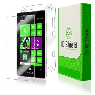 IQ Shield LIQuidSkin   Nokia Lumia 521 Screen Protector + Full Body (Front and Back) with Lifetime Replacement Warranty   High Definition (HD) Ultra Clear Phone Smart Film   Premium Protective Screen Guard   Extremely Smooth / Self Healing / Bubble Free Sh