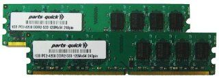 2GB Kit 2 X 1GB DDR2 Desktop Memory for Dell XPS 200 XPS 210 XPS 400 XPS 600 XPS 700 XPS 710 XPS 710 H2C PC2 4200 240 pin 533MHz DIMM RAM (PARTS QUICK BRAND): Computers & Accessories