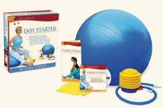 Easy Starter Exercise Kit  Yoga Starter Sets  Sports & Outdoors