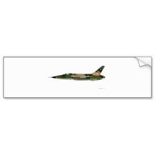Republic F 105 Thunderchief Bumper Stickers