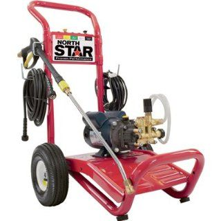 NorthStar Electric Cold Water Pressure Washer   1700 PSI, 1.5 GPM, 120 Volt : Electric Power Washer : Patio, Lawn & Garden