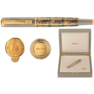 Pelikan Calculation Of Times Limited Edition Gold Fountain Pen Broad