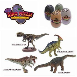 4D Dino Puzzles (part VII)   4 Puzzle Set: Toys & Games