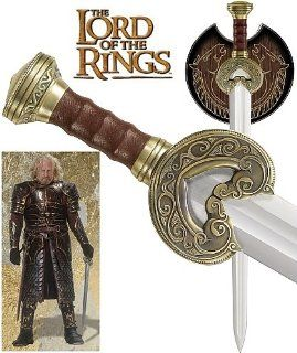 United Cutlery   LOTR   Herugrim  The Sword Of King Theoden   UC1370ABNB   Movie Replica Lord Of The Rings  Martial Arts Swords  Sports & Outdoors