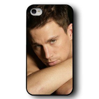 Channing Tatum Hard Snap on Case Cover for Apple Iphone 4 Iphone 4s Cellphone Case: Cell Phones & Accessories
