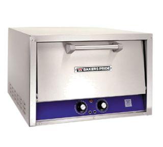 Bakers Pride Electric Single Deck Countertop Pizza/Pretzel Oven, 208/1v
