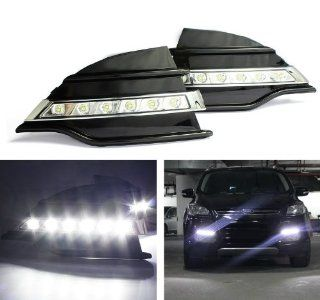 iJDMTOY OEM Fit 12 LED High Power LED Daytime Running Lights Assembly For 2013 up Ford Escape Automotive