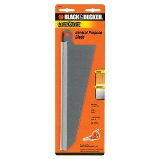 Black & Decker 74 591 Large Wood Cutting Blade for SC500 Navigator Powered Handsaw with Jigsaw   Jig Saw Blades