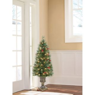 Holiday Time Pre Lit Artificial Christmas Tree