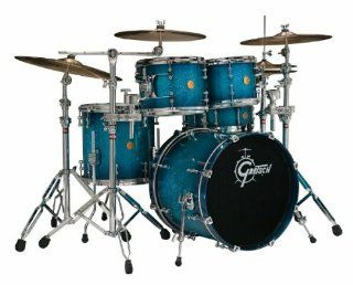 Gretsch Drums New Classic NC F604 OSB 4 Piece Drum Set, Ocean Sparkle Burst Musical Instruments