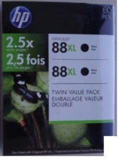 HP CC605BN 88XL BLACK CLUB TWIN PACK Electronics