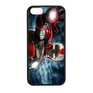 Custom Iron Man New Laser Technology Back Cover Case for iPhone 5 5S CLT606: Cell Phones & Accessories
