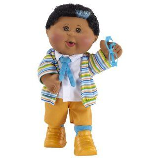 Cabbage Patch Kids Celebration African American Boy Doll, Black Hair and Brown Eyes: Toys & Games