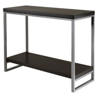 Winsome Jared Console Table   Black