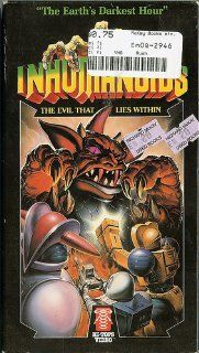 Inhumanoids   Evil That Lies Within (Part 1) [VHS]: Michael Bell, William Callaway, Richard Gautier, Ed Gilbert, Chris Latta, Neil Ross, Stanley Ralph Ross, Richard Sanders, Susan Silo, John Stephenson, Fred Collins, Brad Crandel: Movies & TV
