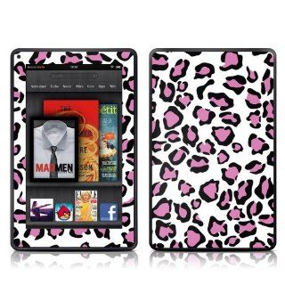 Leopard Love Design Protective Decal Skin Sticker (Matte Satin Coating) for  Kindle Fire (7 inch Color Multi Touch Display) Computers & Accessories