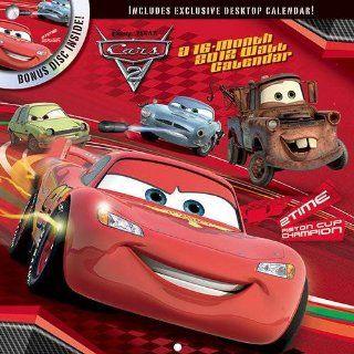 Disney Pixar Cars 2 2012 DVD Wall Calendar