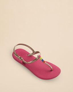 havaianas Girls' Freedom T Strap Sandals   Toddler, Little Kid, Big Kid's