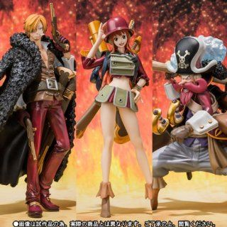 ONE PIECE FILM Z Figuarts ZERO (decisive battle ver.) SANJI, NAMI, USOPP Figure: Toys & Games