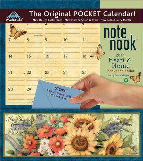Susan Winget Heart & Home Pocket Wall Calendar 2011