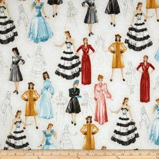 Glamour Girls Beautiful Women Multi Fabric