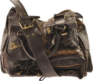 Desigual London Puntilla Marron