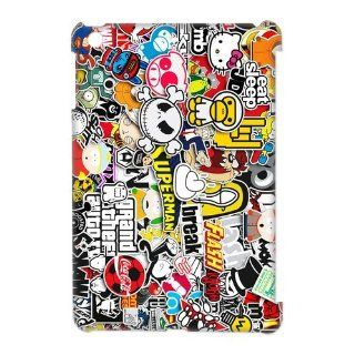 Sticker Bomb JDM Hard Case Cover Skin for iPad Mini 1 Pack  2  Perfect Gift for Christmas: Cell Phones & Accessories