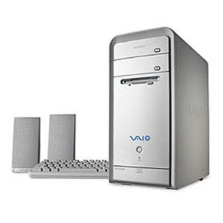 Sony VAIO PCV RS620G Desktop PC (3.0 GHz Pentium 4 (Hyper Threading), 512 MB RAM, 160 GB Hard Drive, DVD+/ RW/DVD Drives) : Desktop Computers : Computers & Accessories