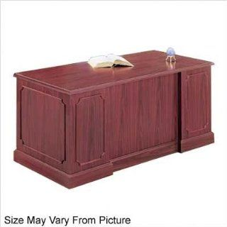 High Point Furniture WY_625 Wyndham Single Pedestal Credenza Finish: Mahogany, Pedestal: Right, Keyboard Platform: Included : Office Credenzas : Office Products