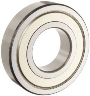 "NSK 6203 625ZZC3 Deep Groove Ball Bearing, Single Row, Double Shielded, Pressed Steel Cage, C3 Clearance, Metric, 5/8"" ID, 40mm OD, 12mm Width, 17000rpm Maximum Rotational Speed, 1079lbf Static Load Capacity, 2147lbf Dynamic Load Capacity: Industrial"