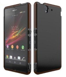 Tech21 D3O Impact Maze Case for Sony Xperia Z   Smokey (T21 3301): Cell Phones & Accessories