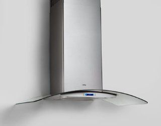"ECM630SS Elica Como 30"" Wall Mount Chimney Hood   Stainless Steel: Appliances"