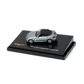 Ricko 1/87 HO 2005 Chrysler Crossfire Roadster Sapphire Silver (38476) Toys & Games