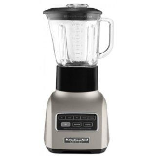 KitchenAid5 Speeds 48 Oz. Glass Pitcher Architect� Series KSB655CS Cocoa Silver IGN Electric Countertop Blenders Kitchen & Dining