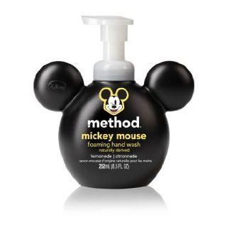 Method Mickey Mouse Foaming Hand Wash 8.5oz, Lemonade (pack of 2) Health & Personal Care