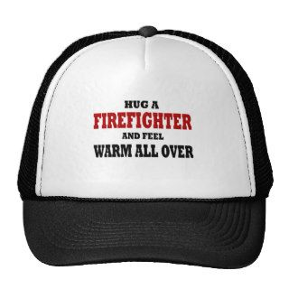 Funny Firefighter Mesh Hats