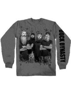 Duck Dynasty Robertsons Reality TV Long Sleeve Redneck T Shirt: Clothing
