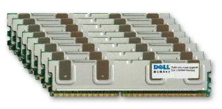 NEW DELL MADE GENUINE ORIGINAL 64GB KIT (8 x 8GB) DDR2 667 PC2 5300 240 PIN Fully Buffered RAM Upgrade for DELL POWEREDGE 2900 R900 Computers & Accessories