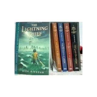 Percy Jackson pbk 5 book boxed set (Percy Jackson & the Olympians): Rick Riordan: 9781423136804: Books