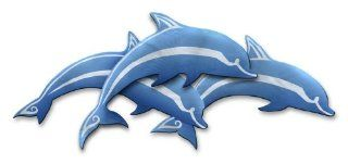 """""""Dolphin Pod"""" Large Abstract Metal Wall Art by Artist Ash Carl, contemporary home decor, modern wall sculpture"""