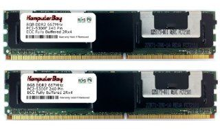 KOMPUTERBAY 16GB Kit (2x8GB) DDR2 667MHz FBDIMM Desktop Server Memory: Computers & Accessories