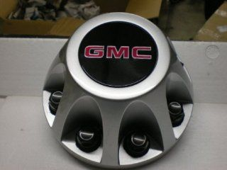 17 Inch OEM GMC HD 8 Lug Silver Painted REAR Center Cap Hubcap Wheel Cover, 2008 2009 2010 # 9597536 8076 Sierra Van 3500 Pickup Truck DRW Dually: Automotive