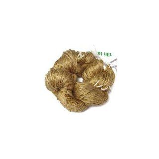 Tilli Tomas Beaded Lace Yarn (Goldenrod)   Beaded Lace Weight Silk