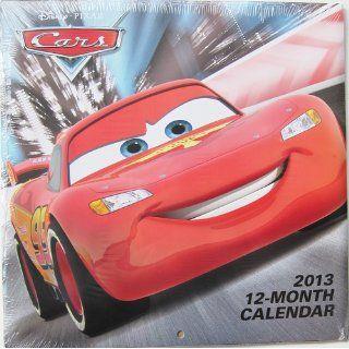 Disney Pixar Cars 2 2013 Wall Calendar