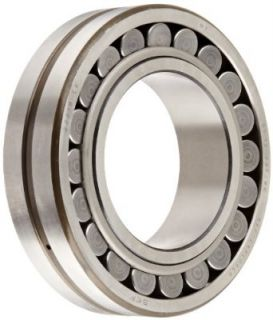 SKF 22215 EK Explorer Spherical Roller Bearing, Tapered Bore, Standard Tolerance, Steel Cage, Normal Clearance, Metric, 75mm Bore, 130mm OD, 31mm Width, 6300rpm Maximum Rotational Speed, 54000lbf Static Load Capacity, 47700lbf Dynamic Load Capacity: Indust