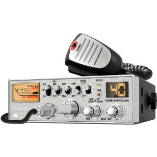 Uniden PC687 40 Channel CB Radio with Big Power Meter  Fixed Mount Cb Radios  Electronics