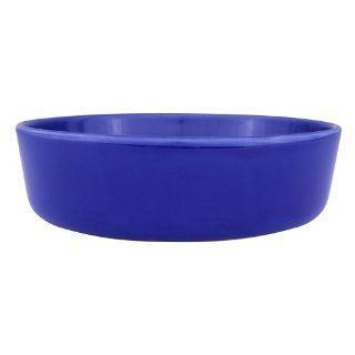 Zak Designs Moxie Dark Blue 10 inch x 3 inch Serving Bowl: Kitchen & Dining