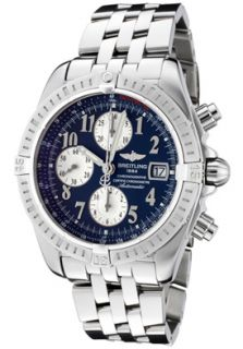 Breitling A1335611/C647  Watches,Mens Windrider Automatic/Mechanical Chronograph Blue Dial Stainless Steel, Chronograph Breitling Mechanical Watches