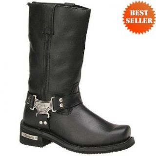 Milwaukee Classic Harness Motorcycle Boots for Women 6 Automotive